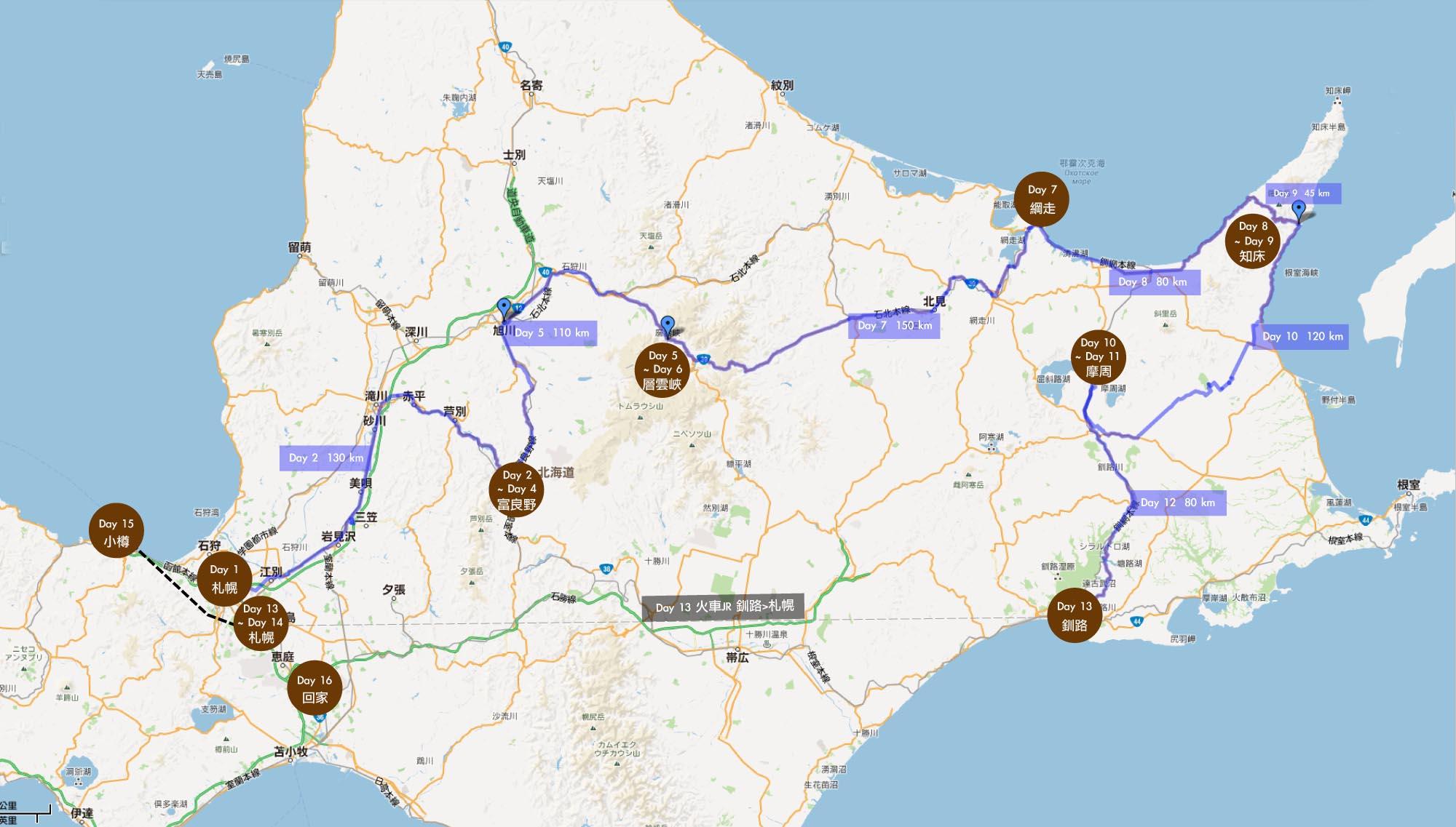 青岛山川旅游地图